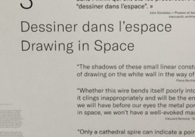 @ Musée Picasso: Drawing in space: that's what we do!